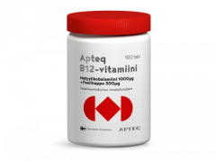 Apteq B12 metyylikobalamiini 1000 µg 100 tabl